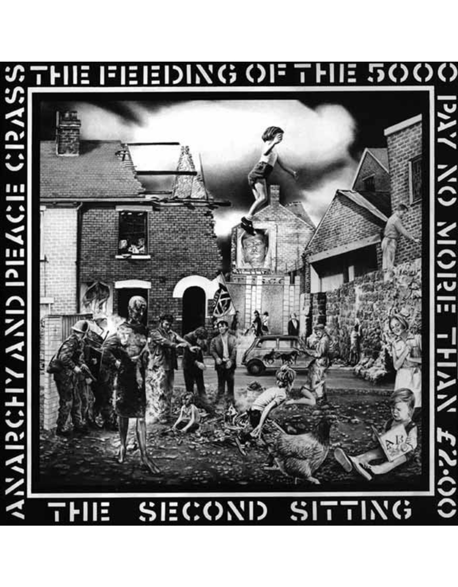 New Vinyl Crass - Feeding Of The 5,000 LP
