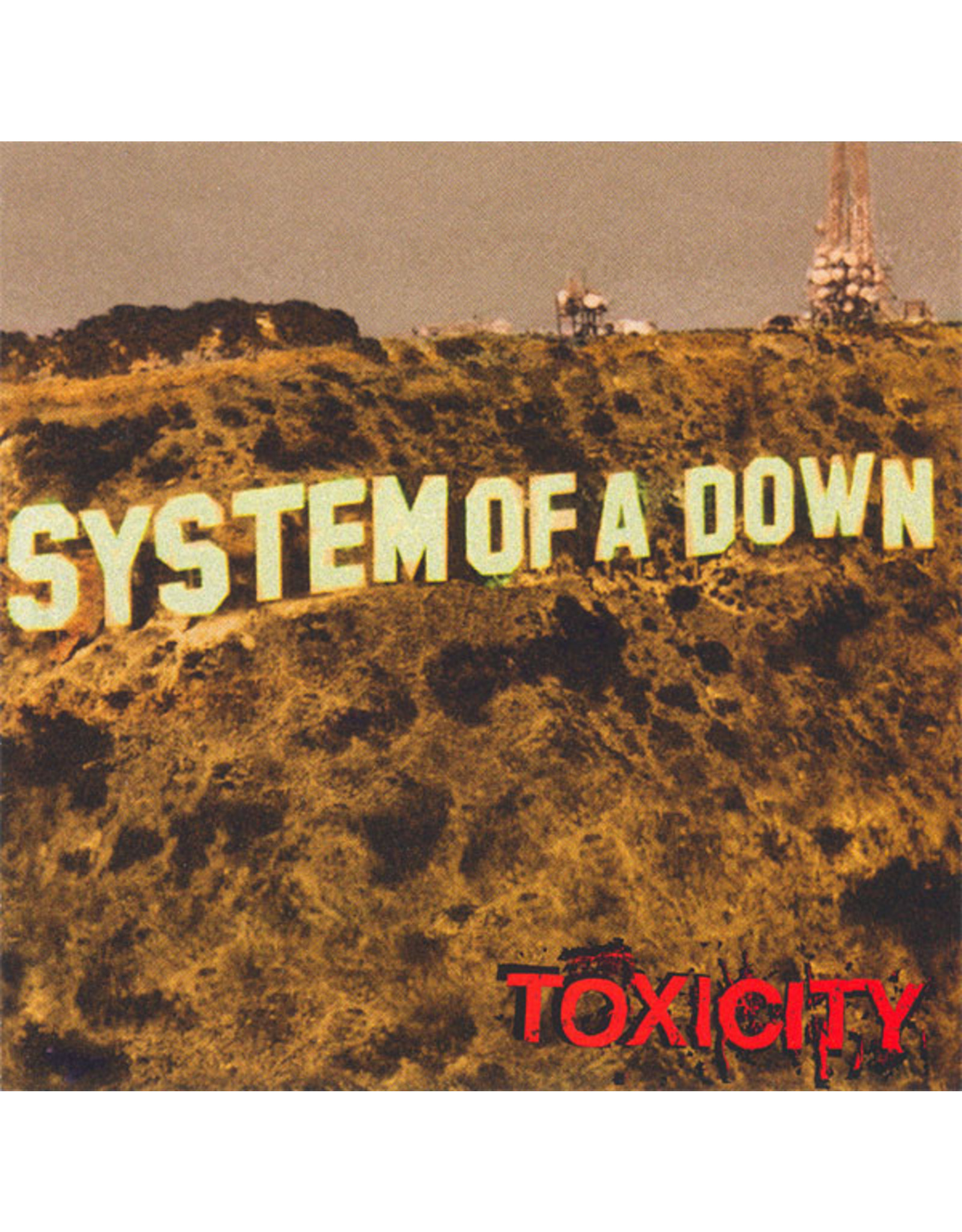 New Vinyl System Of A Down - Toxicity LP