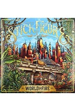 New Vinyl Stick Figure - World On Fire 2LP