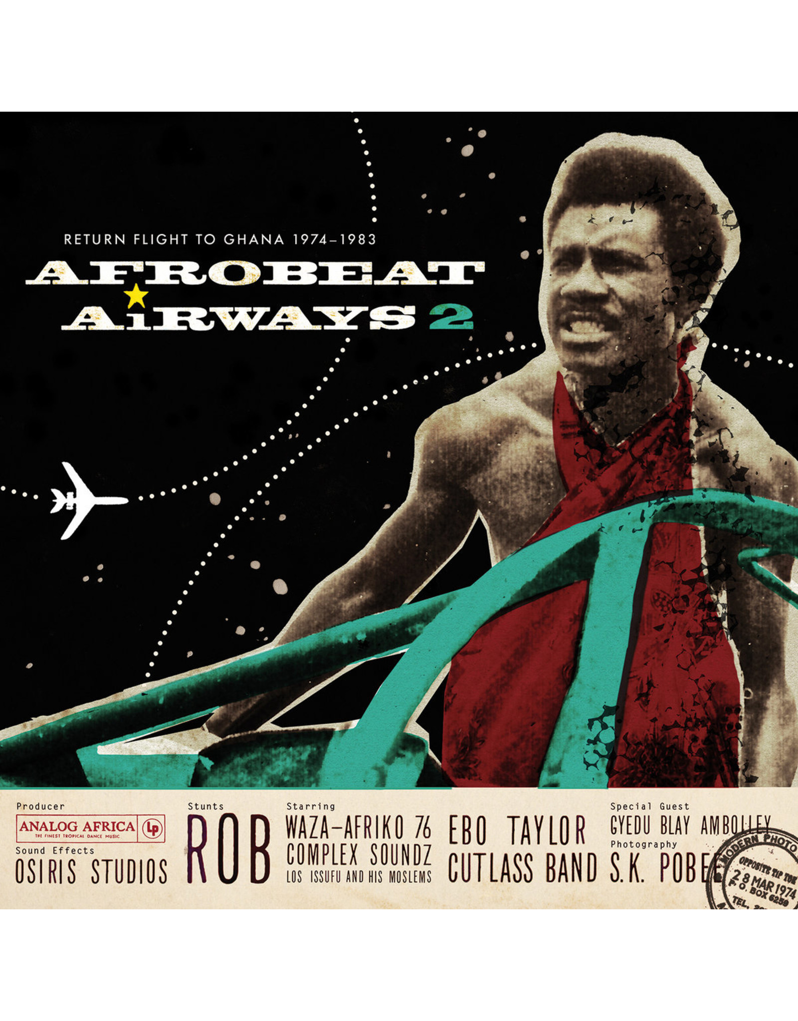 Various Artists - AFRO-BEAT AIRWAYS 2: Return Flight to Ghana 1974-1983 2LP