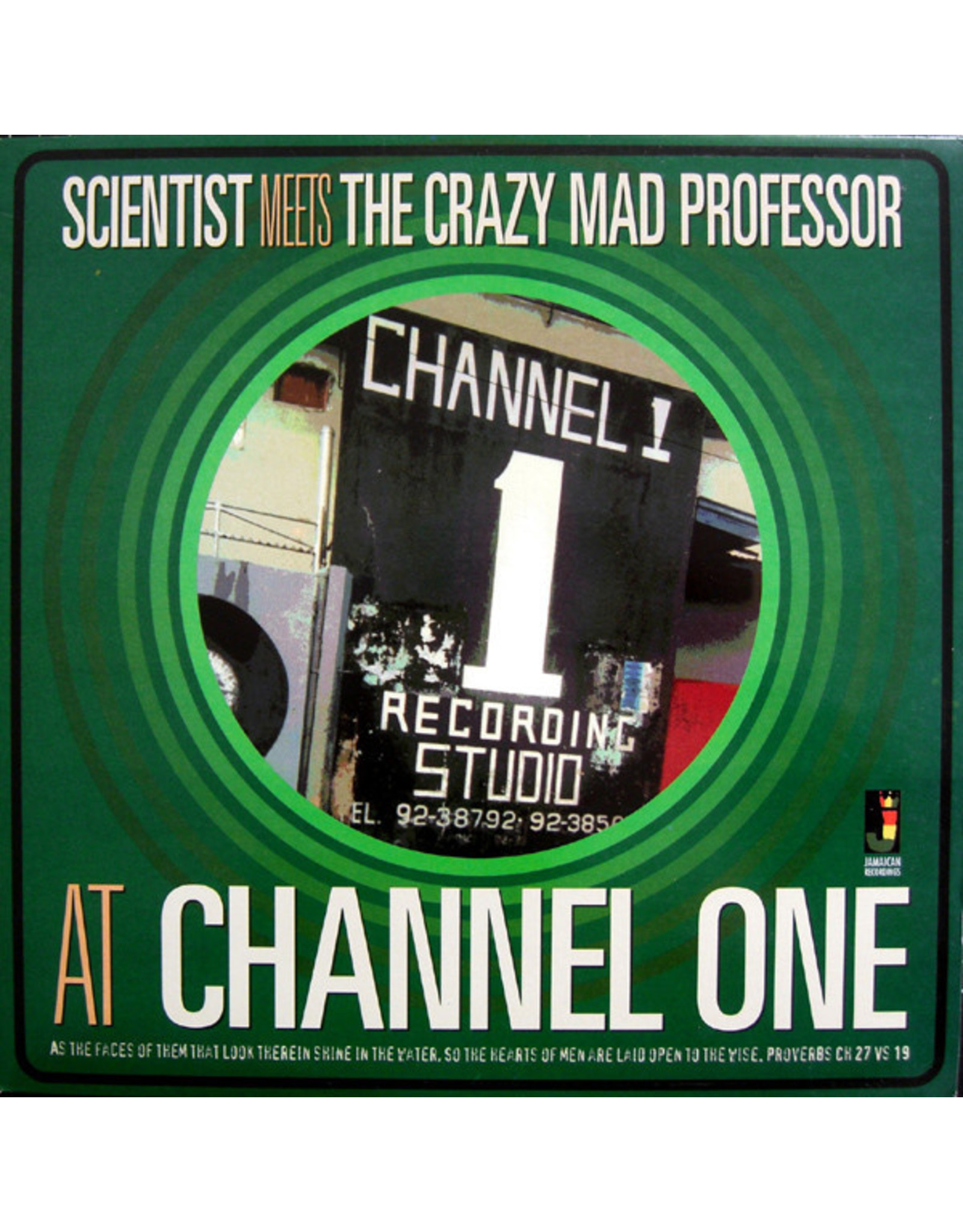 New Vinyl Scientist / Mad Professor - At Channel One LP