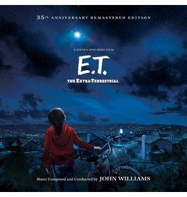 New Vinyl John Williams - E.T. The Extra-Terrestrial (35th Anniversary Remastered Edition) 2LP