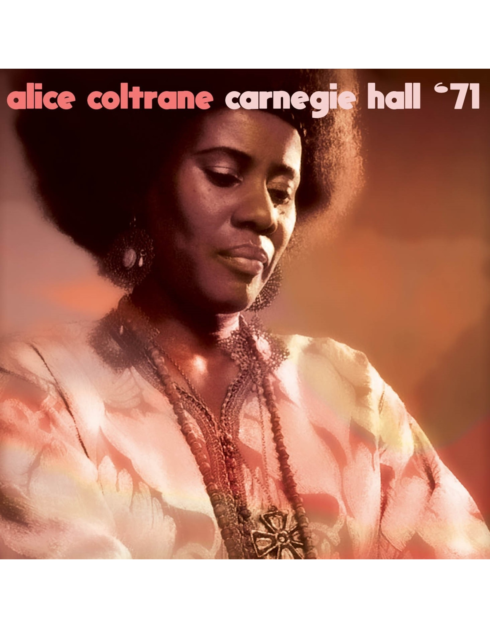 Alice Coltrane - Live At Carnegie Hall, 1971 LP