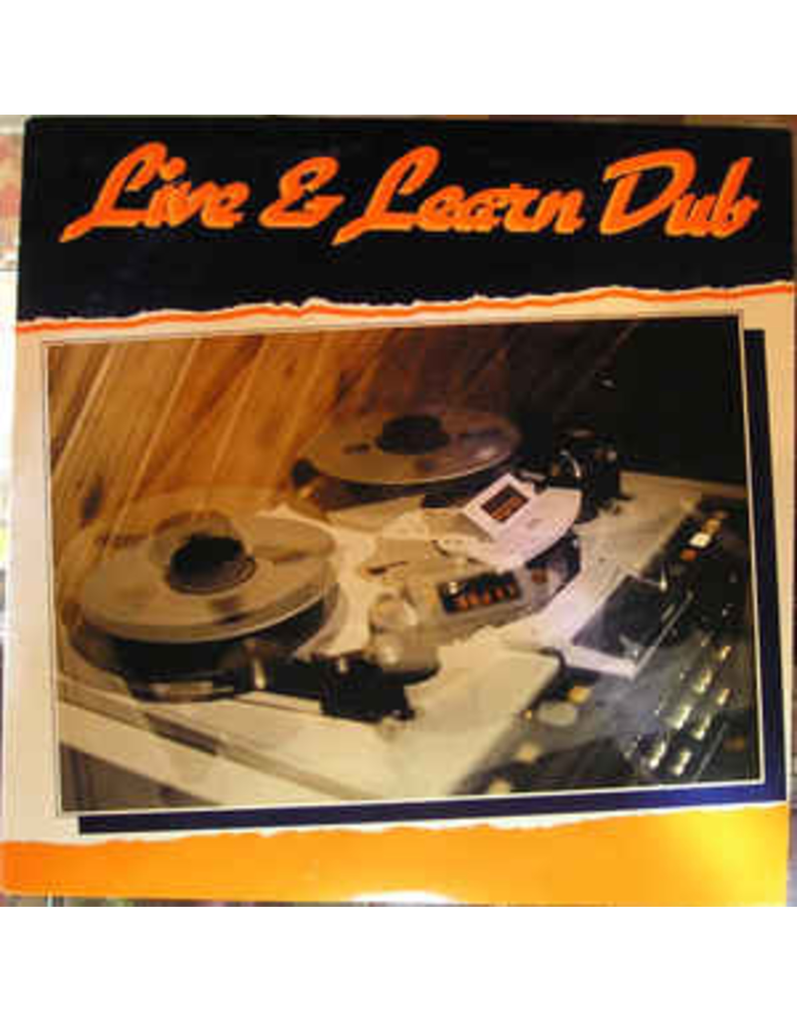New Vinyl Delroy Wright - Live & Learn Dub LP