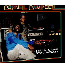 New Vinyl Cornell Campbell - I Man A The Stal-A-Watt LP