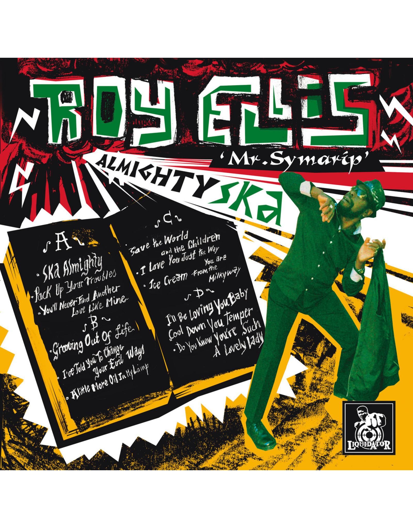 New Vinyl Roy Ellis & The Transilvanians - Almighty Ska 2LP