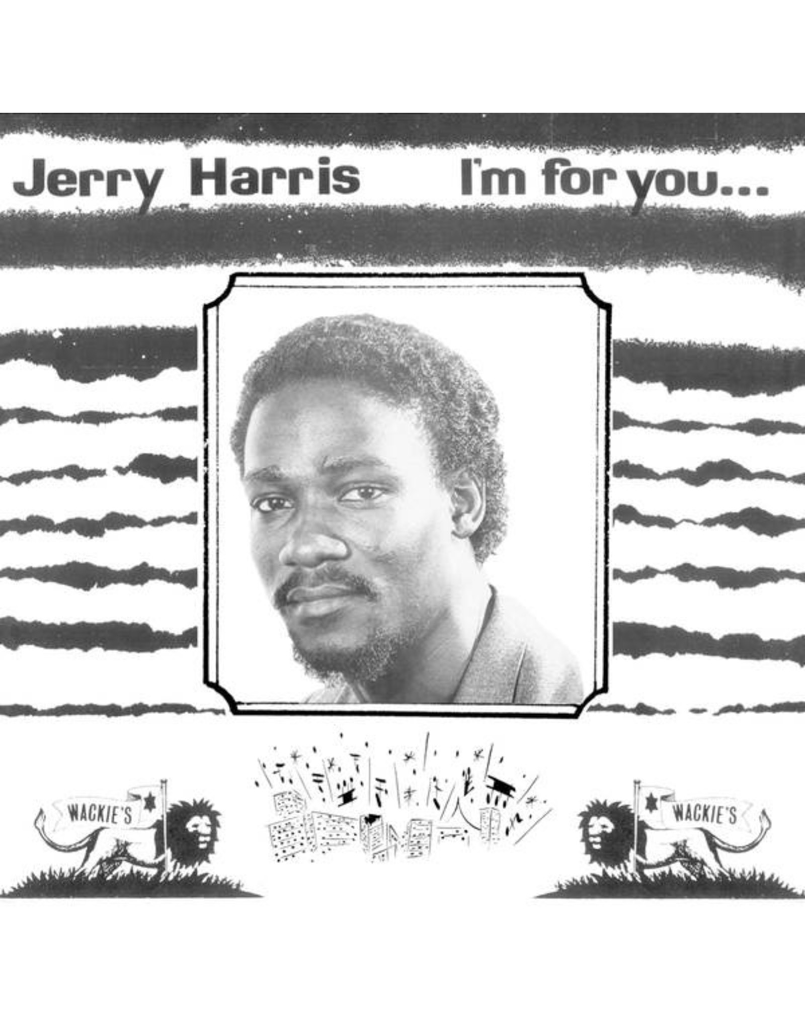 New Vinyl Jerry Harris - I'm For You LP