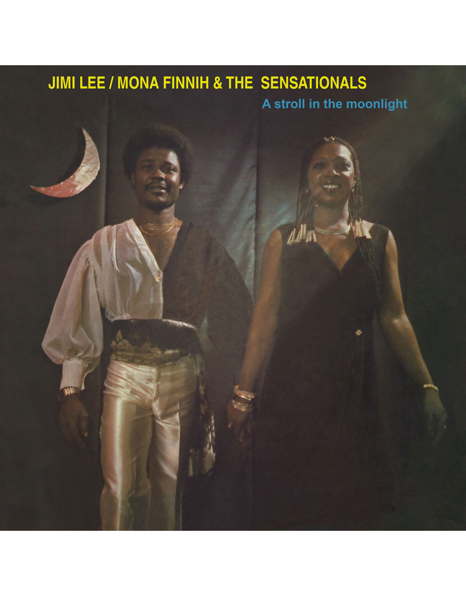 New Vinyl Jimi Lee / Mona Finnih & The Sensationals - A Stroll In The Moonlight LP