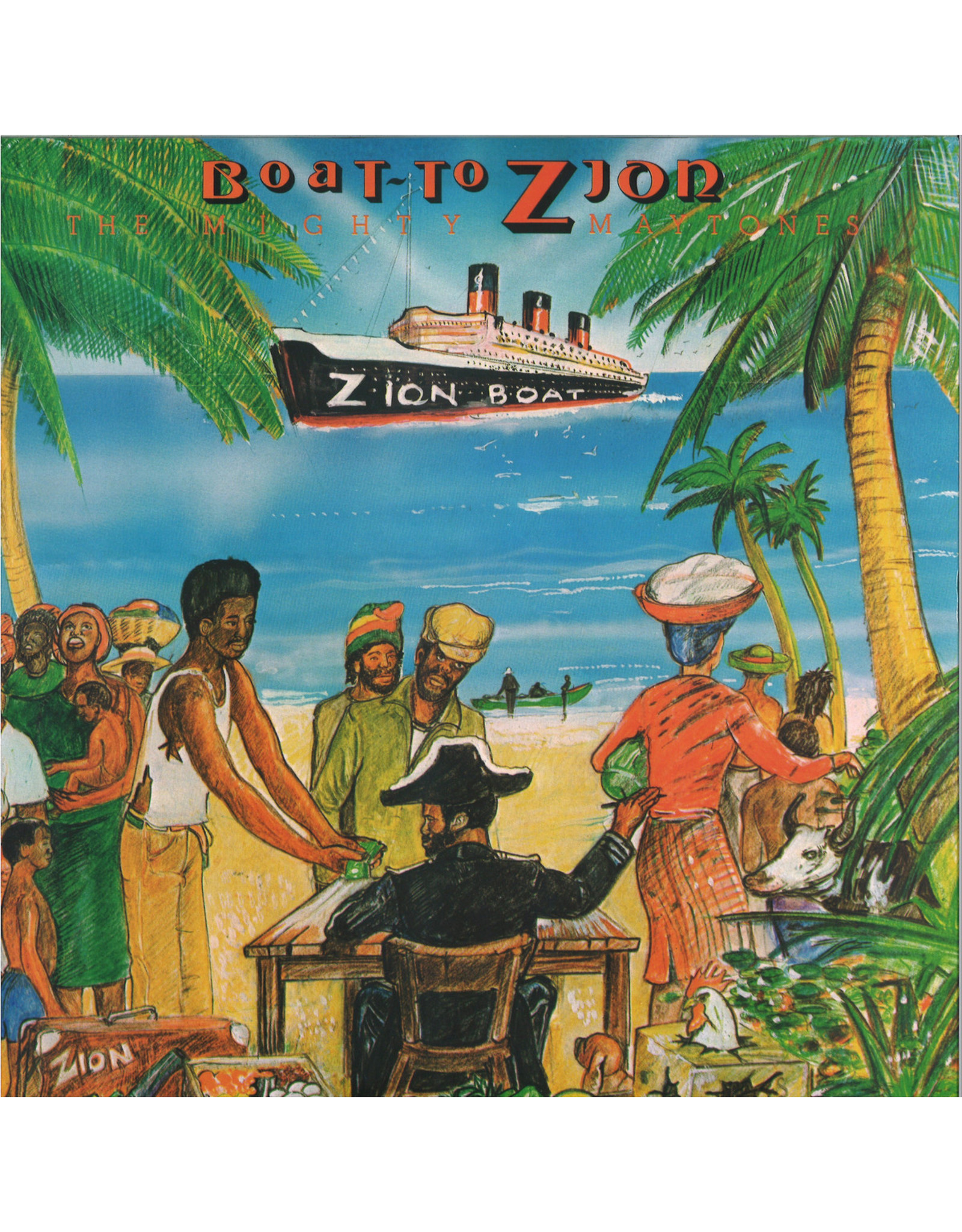 New Vinyl The Mighty Maytones - Boat To Zion LP