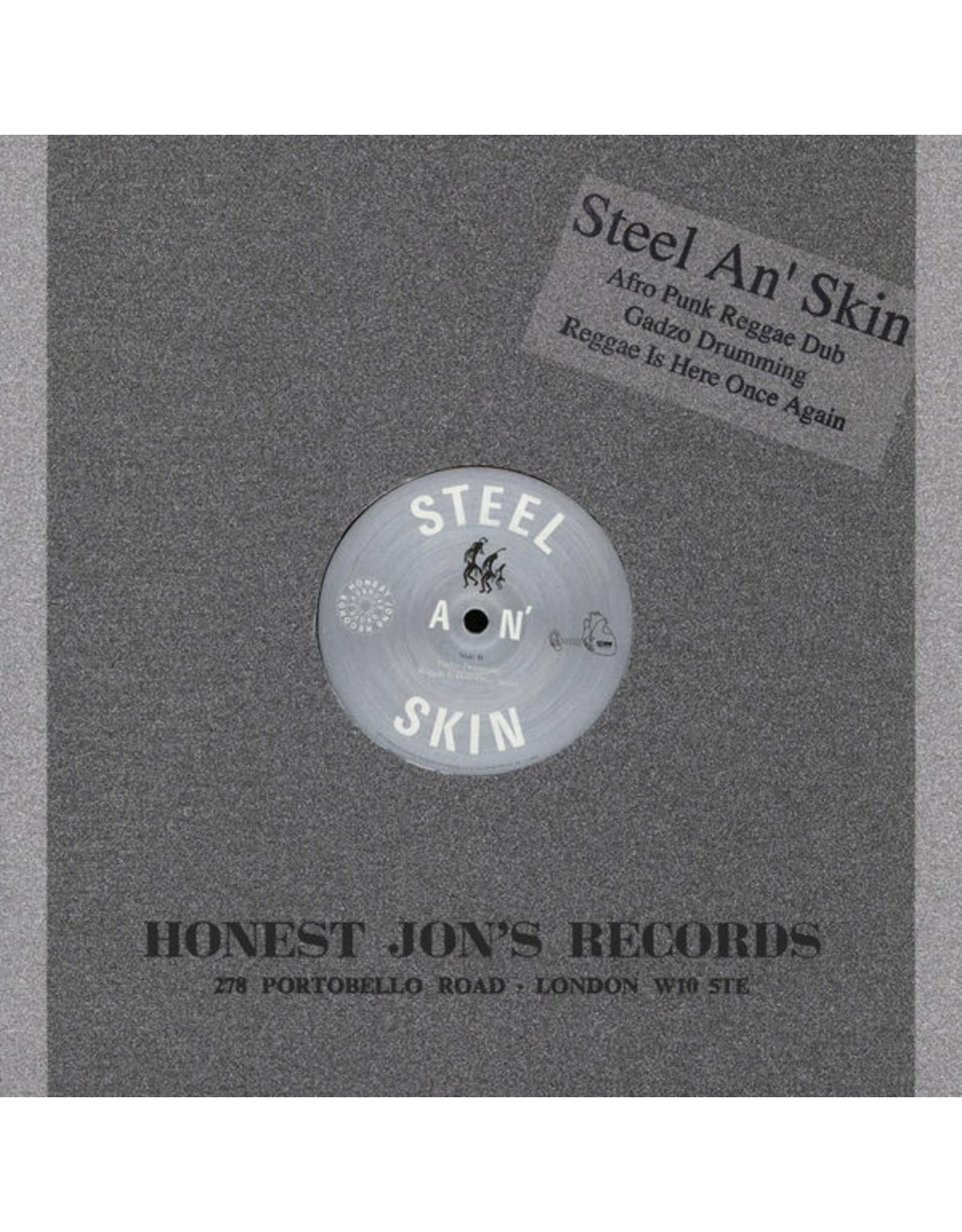 "New Vinyl Steel An' Skin - Afro Punk Reggae Dub 12"""