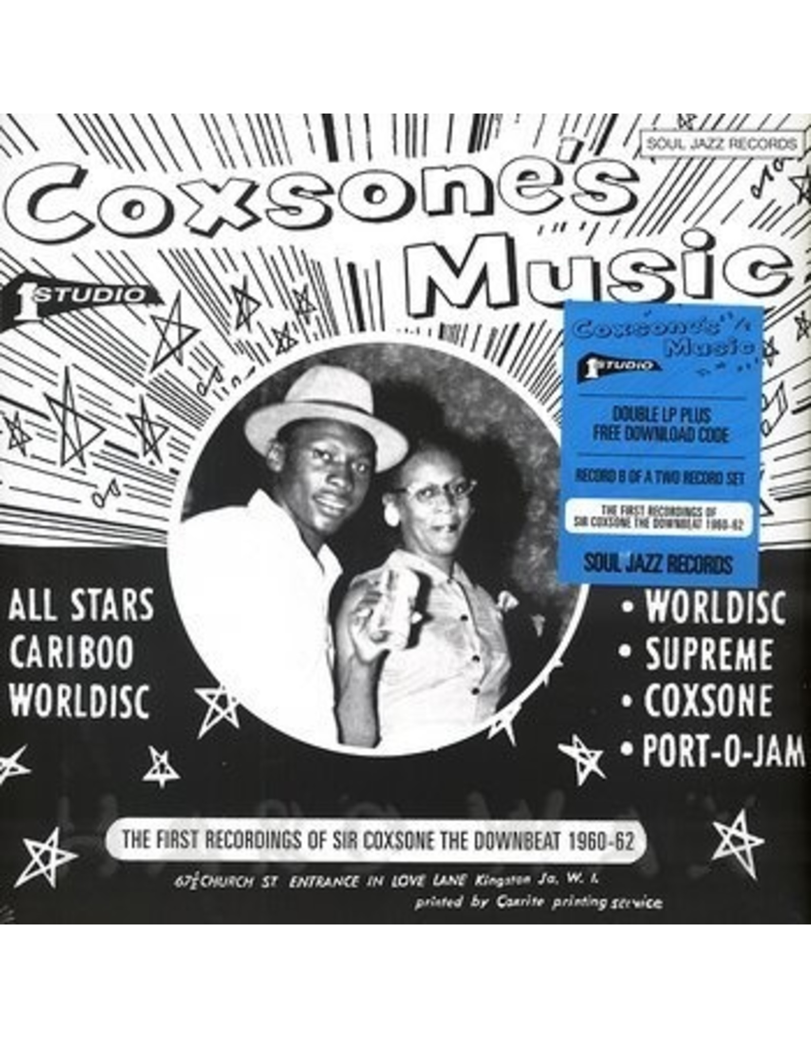 New Vinyl Various - Coxsone's Music B 2LP