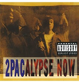 New Vinyl 2Pac - 2pacalypse Now 2LP