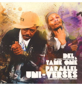 New Vinyl Del The Funky Homosapien & Tame One - Parallel Uni-Verses LP