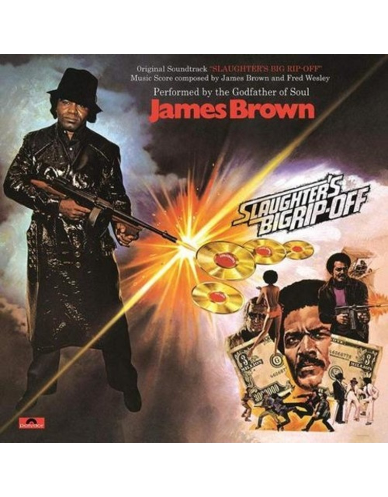 New Vinyl James Brown - Slaughter's Big Rip Off OST LP