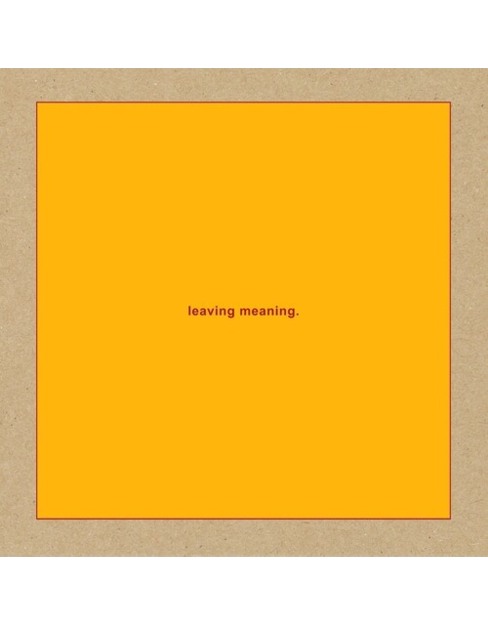 New Vinyl Swans - Leaving Meaning 2LP