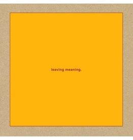 New Vinyl Swans - Leaving Meaning 2LP