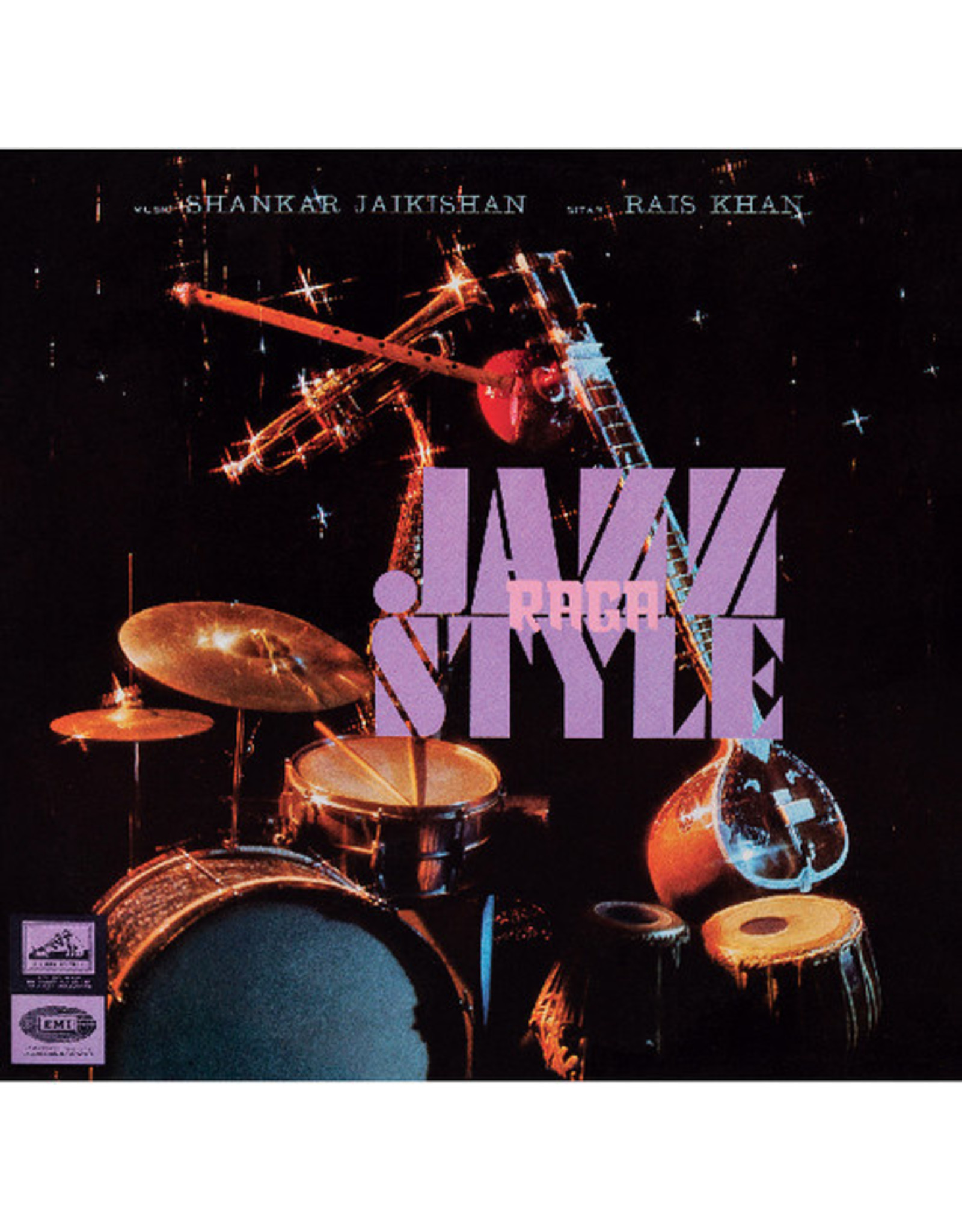 New Vinyl Shankar Jaikishan / Rais Khan - Raga Jazz Style LP