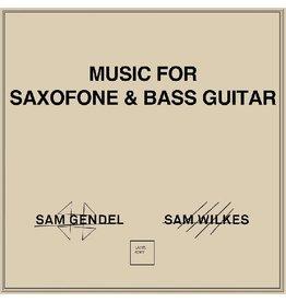 New Vinyl Sam Gendel // Sam Wilkes - Music For Saxofone & Bass Guitar LP