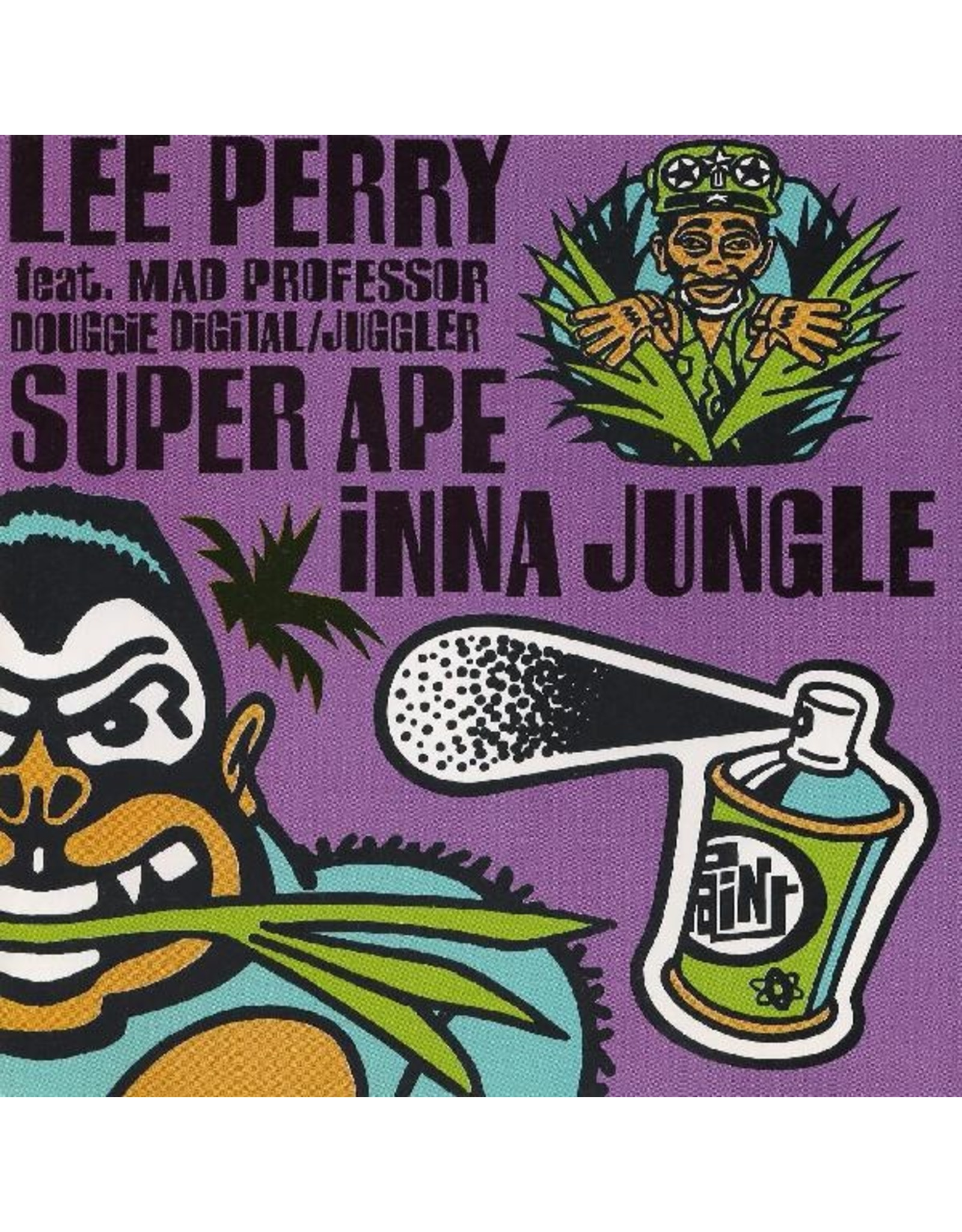 New Vinyl Lee 'Scratch' Perry ft. Mad Professor / Douggie Digital / Juggler - Super Ape Inna Jungle LP