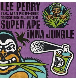 New Vinyl Lee 'Scratch' Perry ft. Mad Professor / Douggie Digital / Juggler - Super Ape Inna Jungle LP