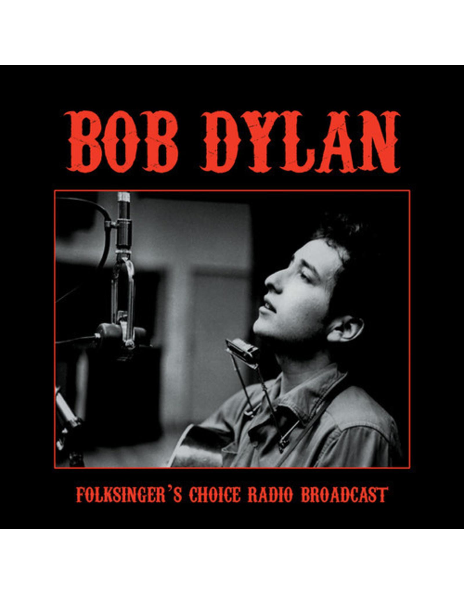 New Vinyl Bob Dylan - Folksinger's Choice Radio Broadcast LP