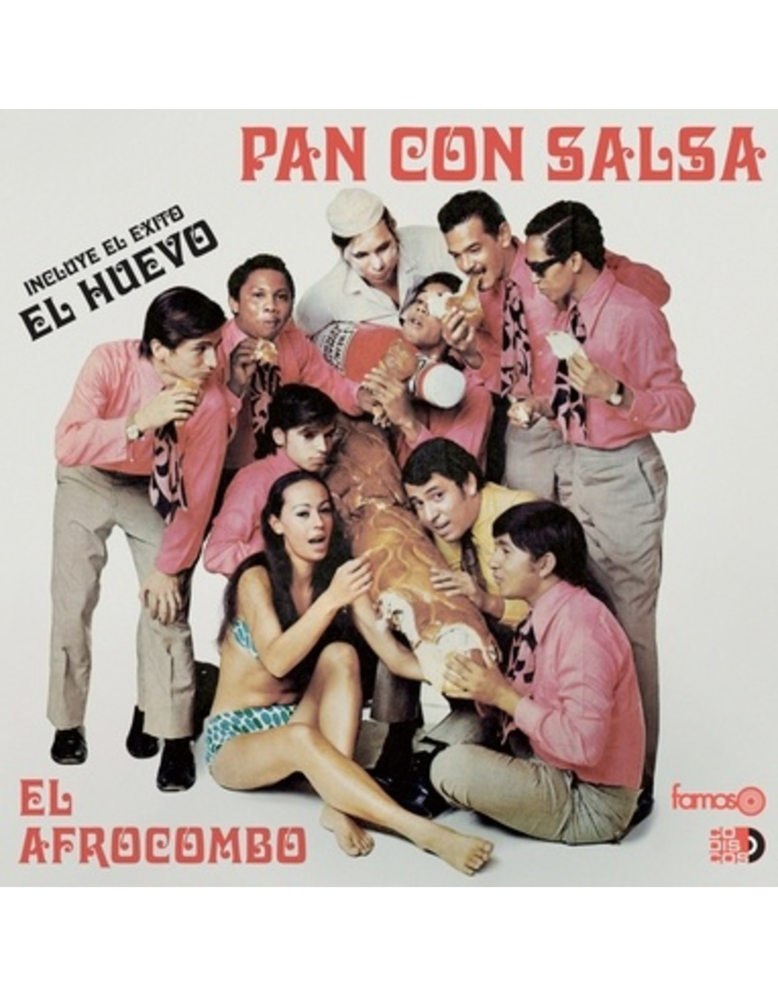 New Vinyl El Afrocombo - Pan Con Salsa LP