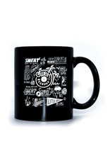 "Sweat x Brian Butler ""Logo Sheet"" Mug"
