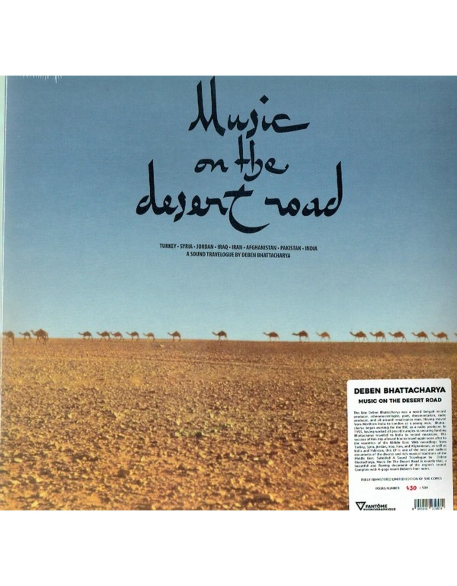 New Vinyl Deben Bhattacharya - Music On The Desert Road LP