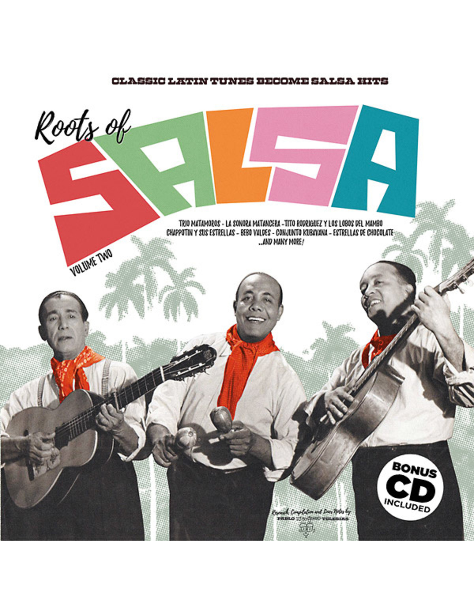 New Vinyl Various - Roots Of Salsa Vol. 2: Classic Latin Tunes Become Salsa Hits LP+CD
