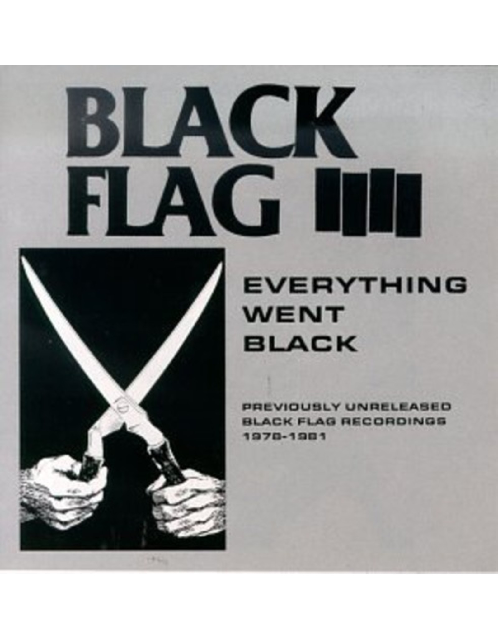 New Vinyl Black Flag - Everything Went Black 2LP