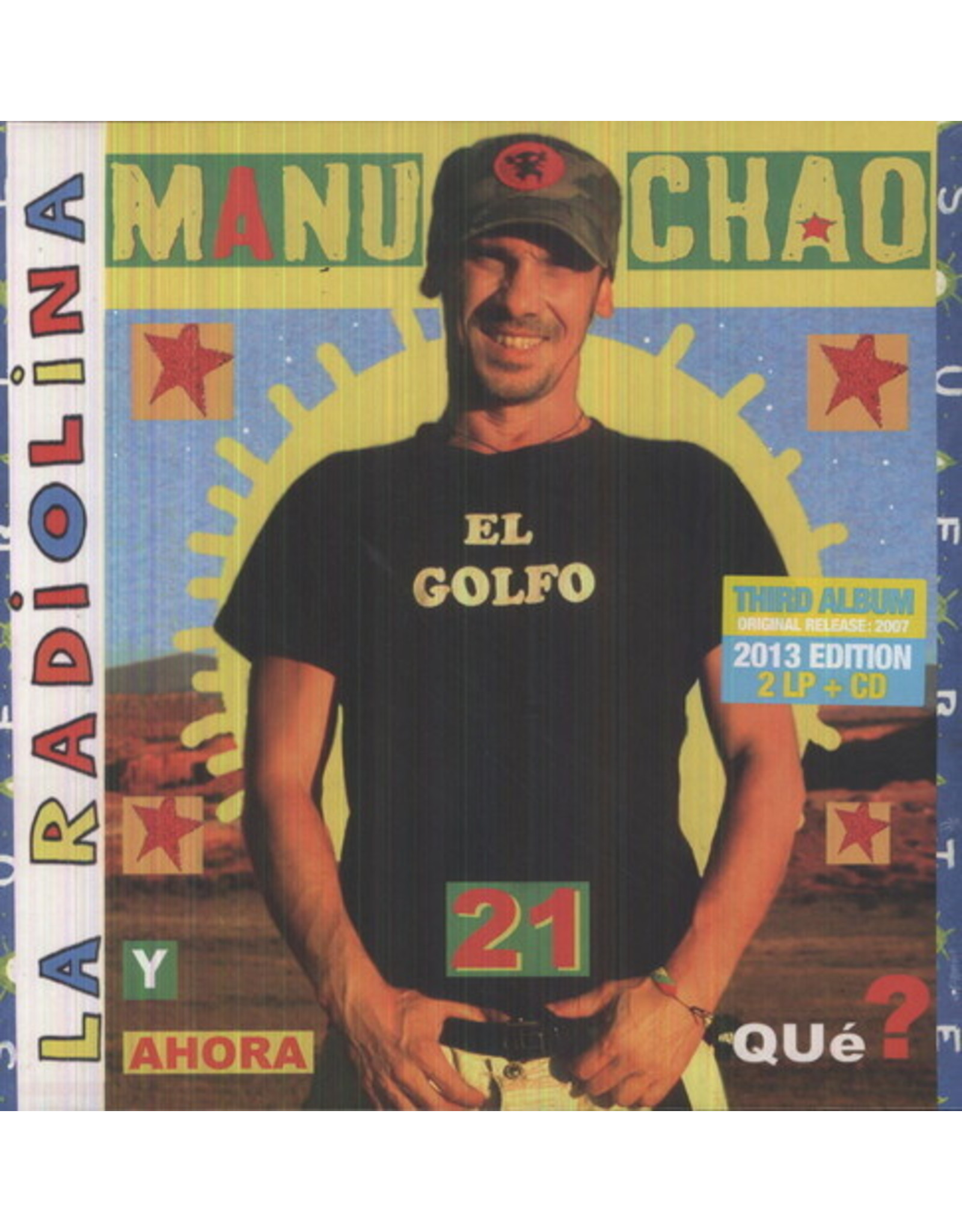 New Vinyl Manu Chao - La Radiolina 2LP+CD
