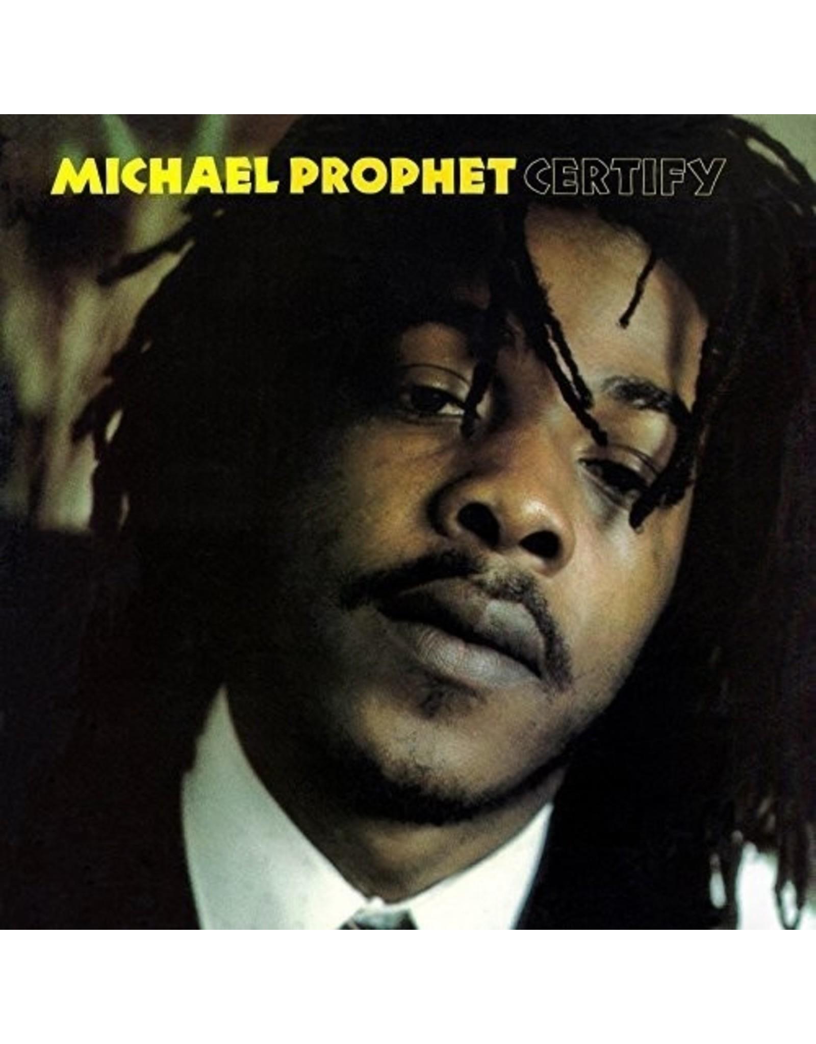 New Vinyl Michael Prophet - Certify LP