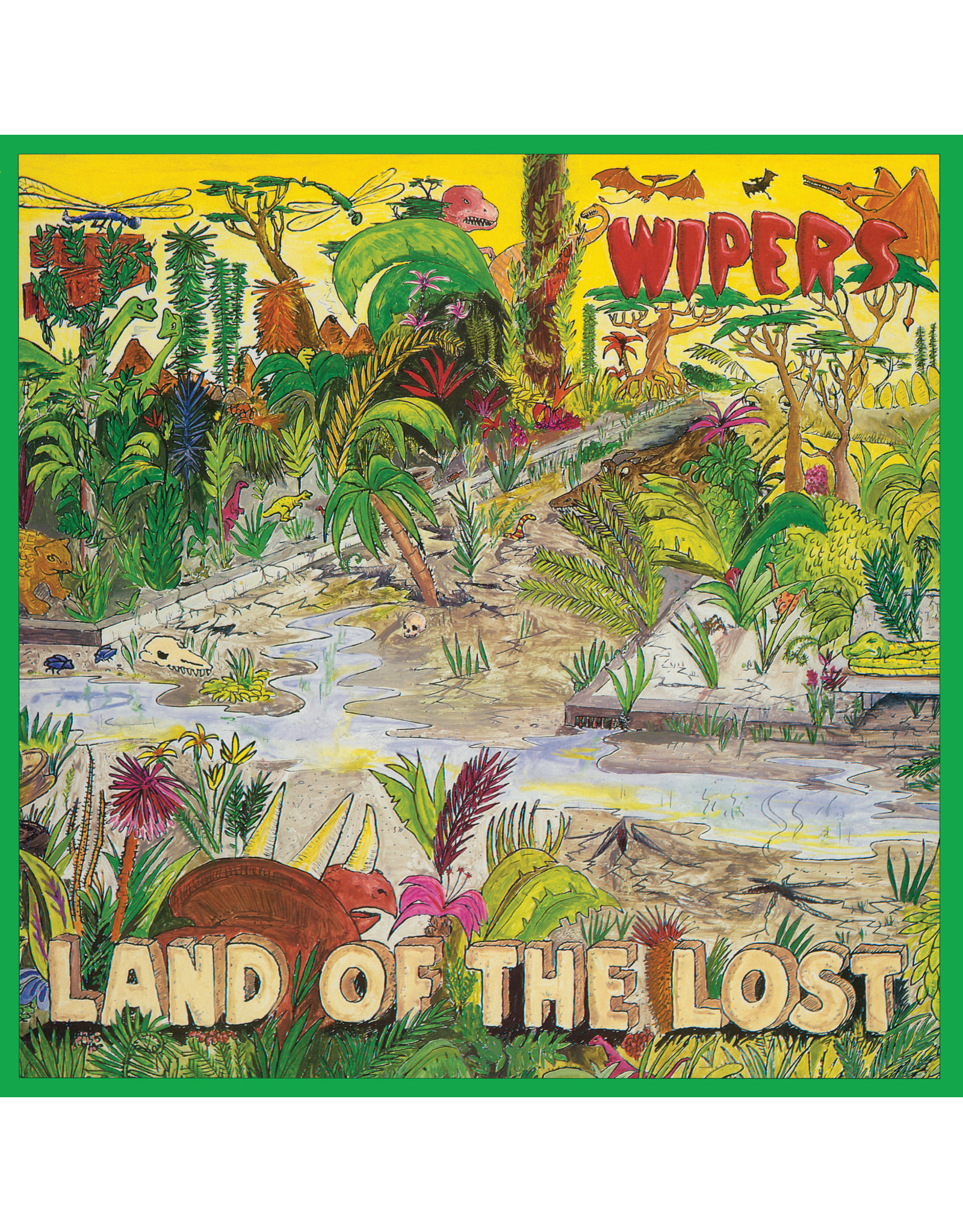 New Vinyl The Wipers - Land Of The Lost LP