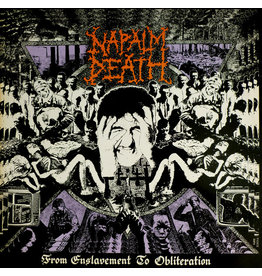 New Vinyl Napalm Death - From Enslavement To Obliteration LP