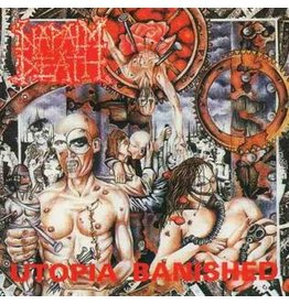 New Vinyl Napalm Death - Utopia Banished LP