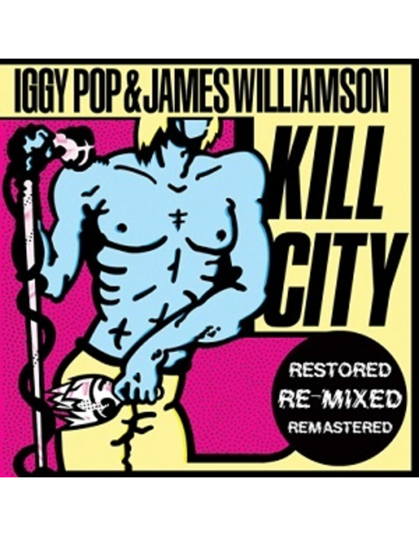 New Vinyl Iggy Pop & James Williamson - Kill City LP