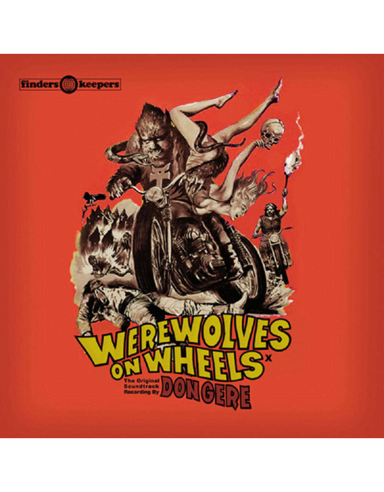 New Vinyl Don Gere - Werewolves On Wheels OST LP
