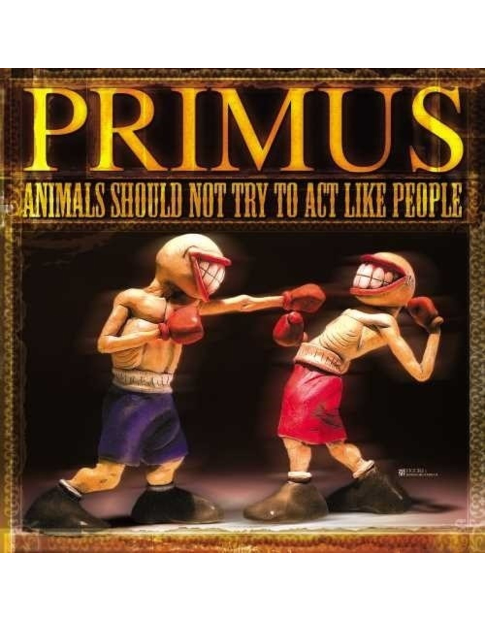 New Vinyl Primus - Animals Should Not Try To Act Like People LP