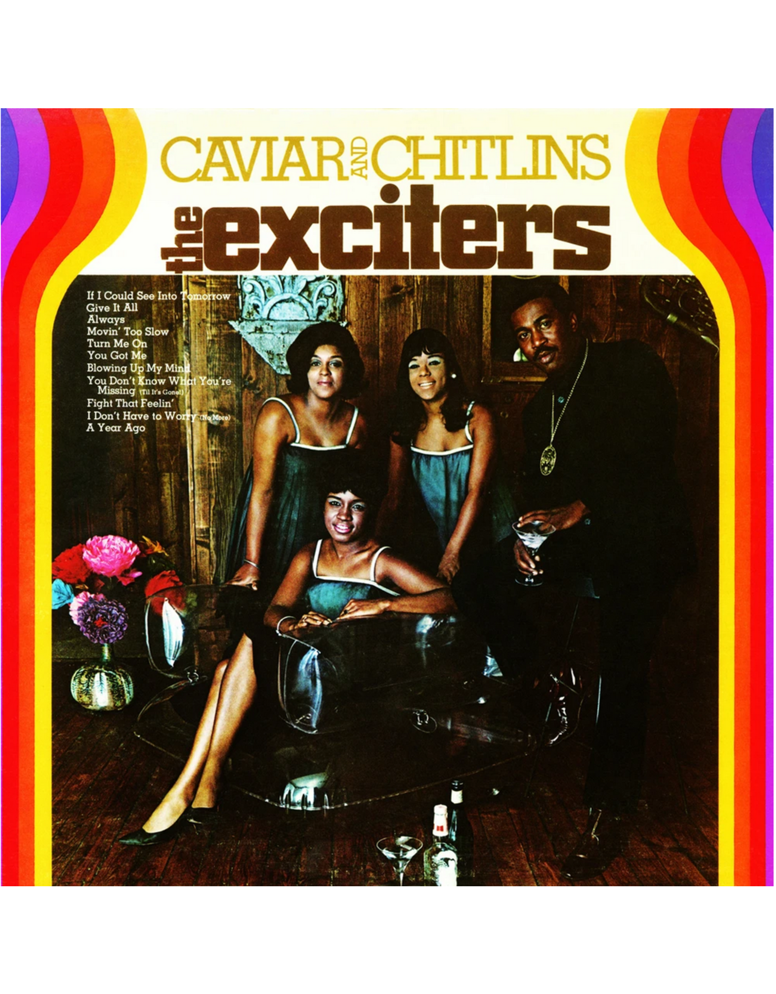 New Vinyl The Exciters - Caviar and Chitlins LP