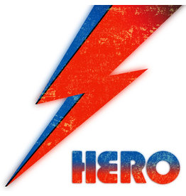 New Vinyl Various - Hero: Main Man Records Presents A Tribute To David Bowie LP