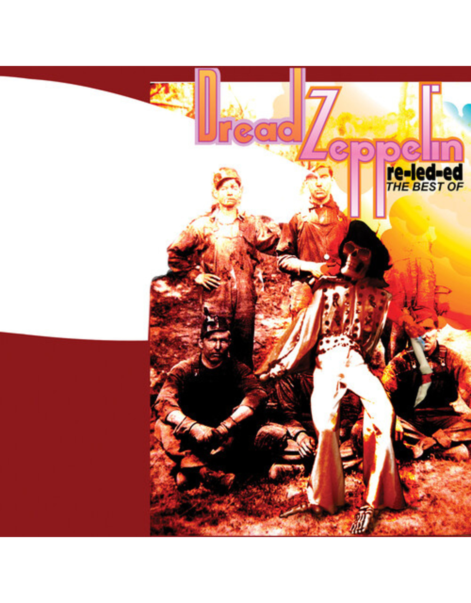 New Vinyl Dread Zeppelin - Re-Led-Ed: The Best Of (Colored) LP
