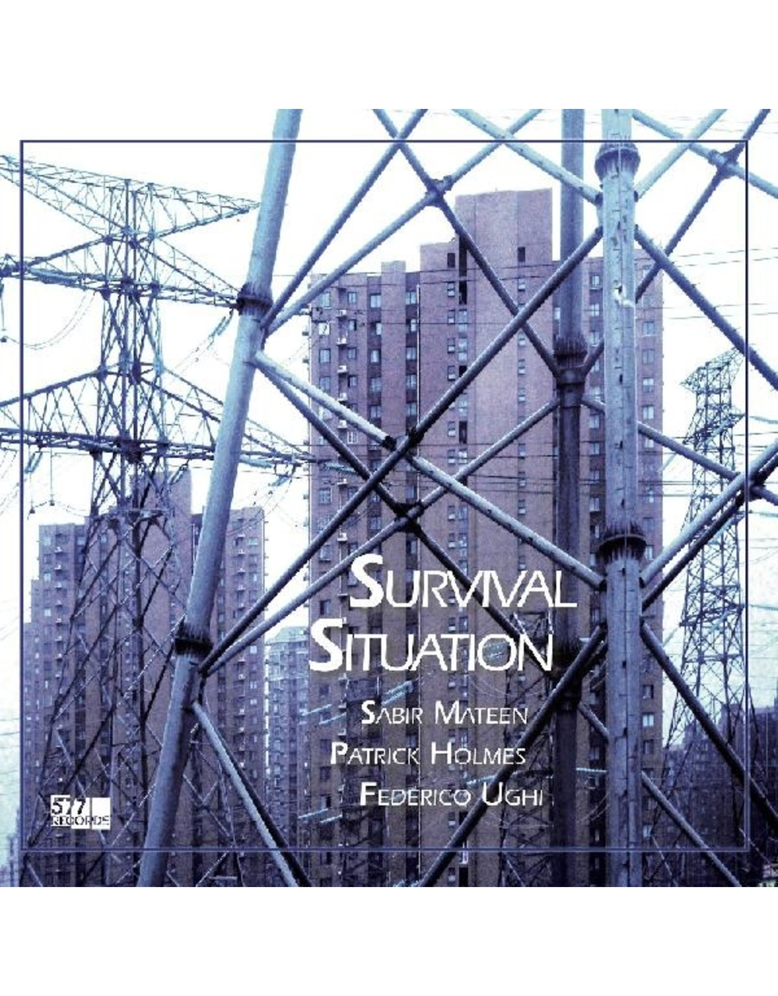 New Vinyl Sabir Mateen, Patrick Holmes, Federico Ughi - Survival Situation LP