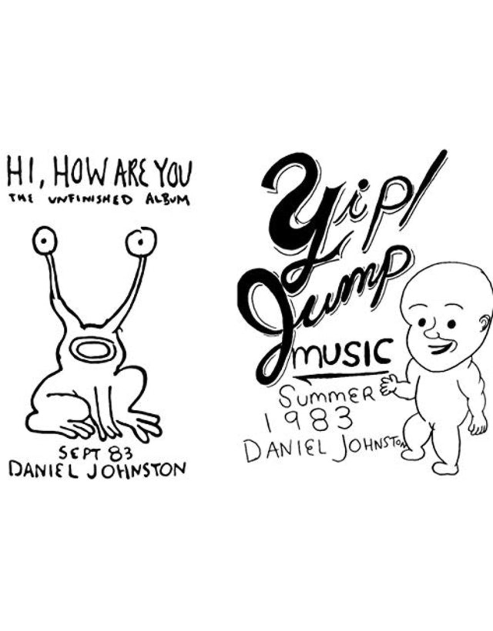 New Vinyl Daniel Johnston - Hi, How Are You? // Yip Jump Music 3LP