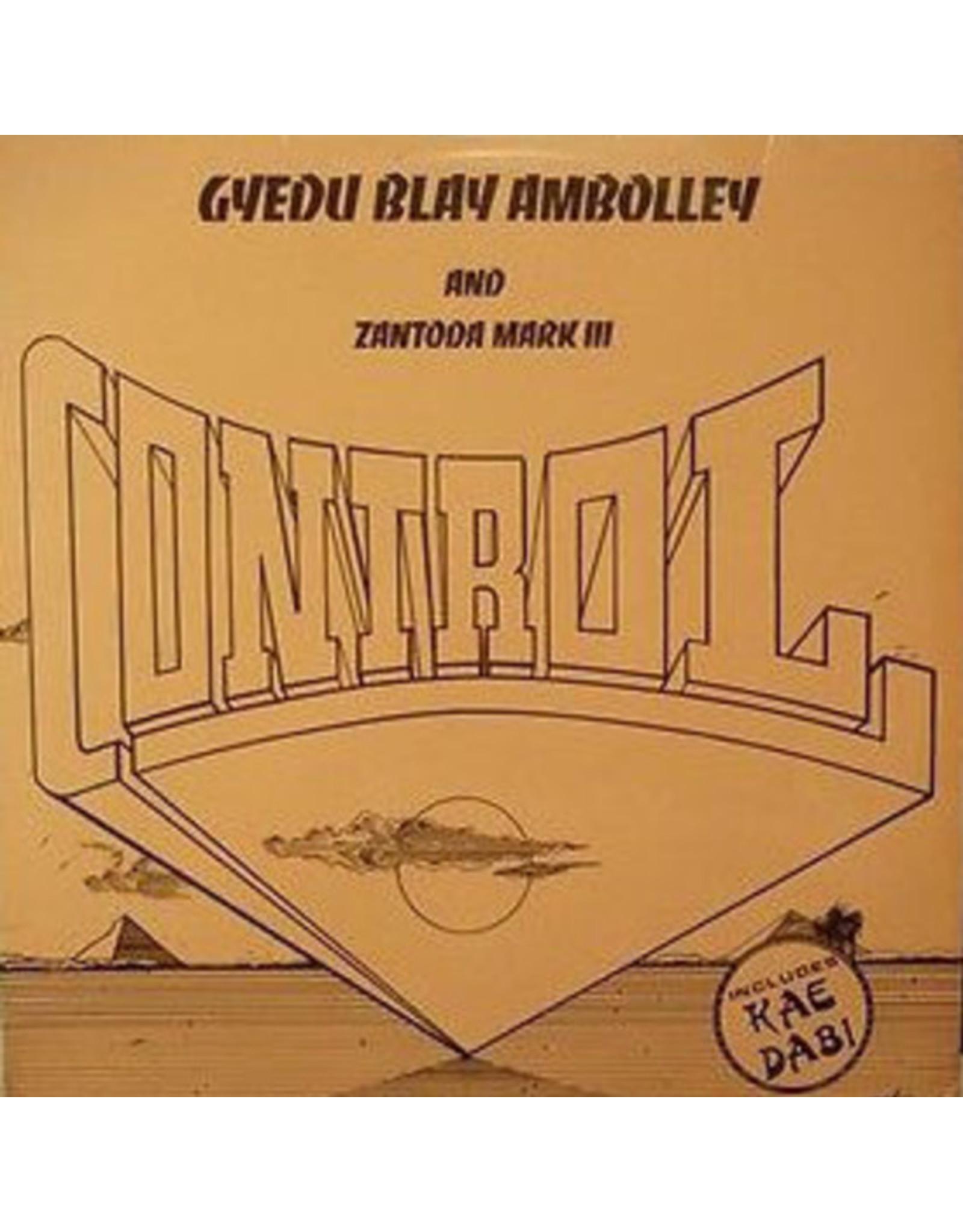 New Vinyl Gyedu-Blay Ambolley - Control LP