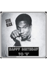 New Vinyl Steve Black - Happy Birthday To U LP