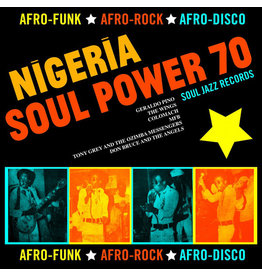 New Vinyl Various - Nigeria Soul Power 70: Afro-Funk ★ Afro-Rock ★ Afro-Disco 2LP