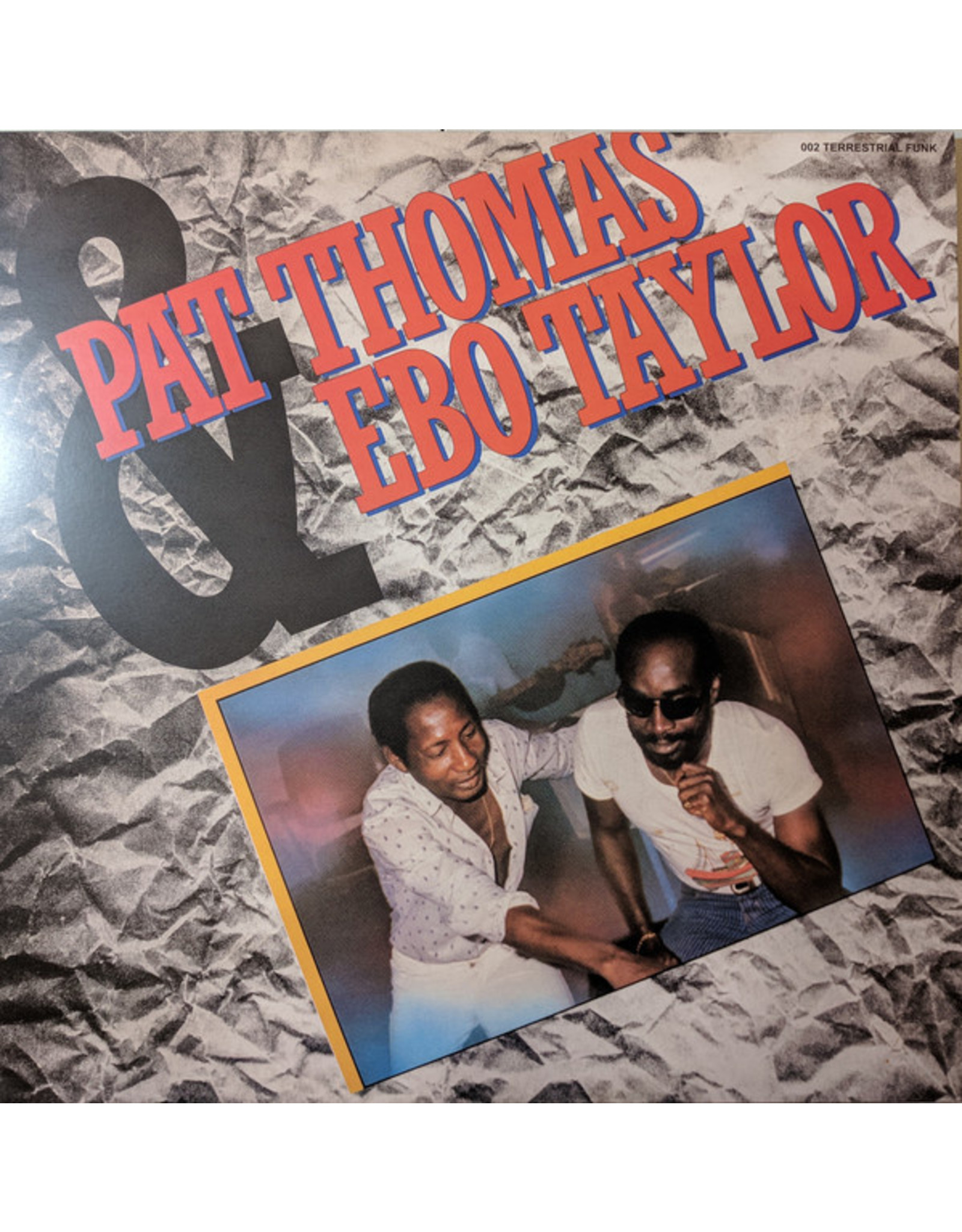New Vinyl Pat Thomas & Ebo Taylor - S/T LP