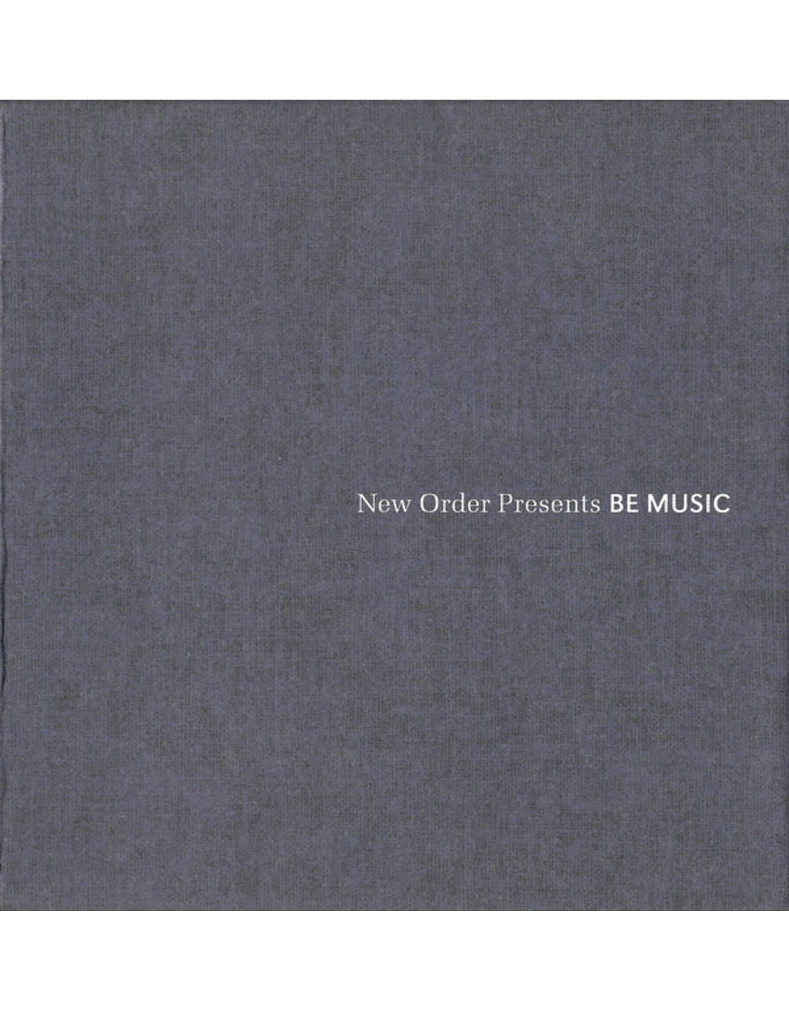 New Vinyl Various - Be Music: Productions + Mixes By New Order 2LP