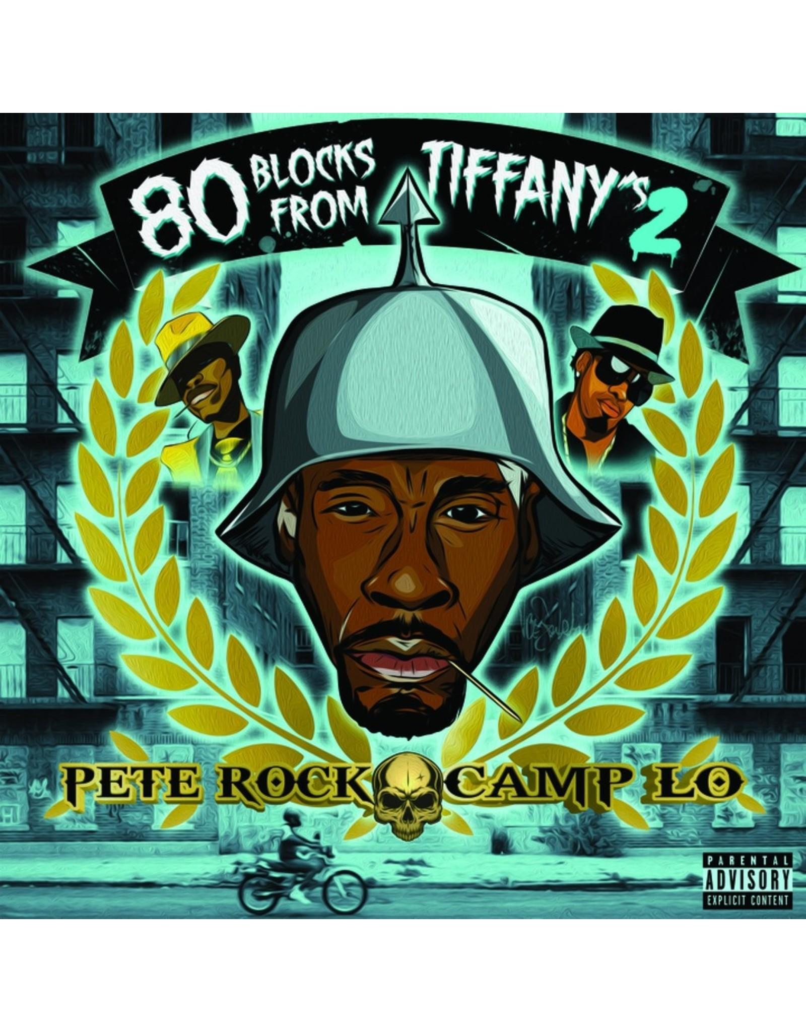 New Vinyl Pete Rock x Camp Lo - 80 Blocks From Tiffany's II 2LP