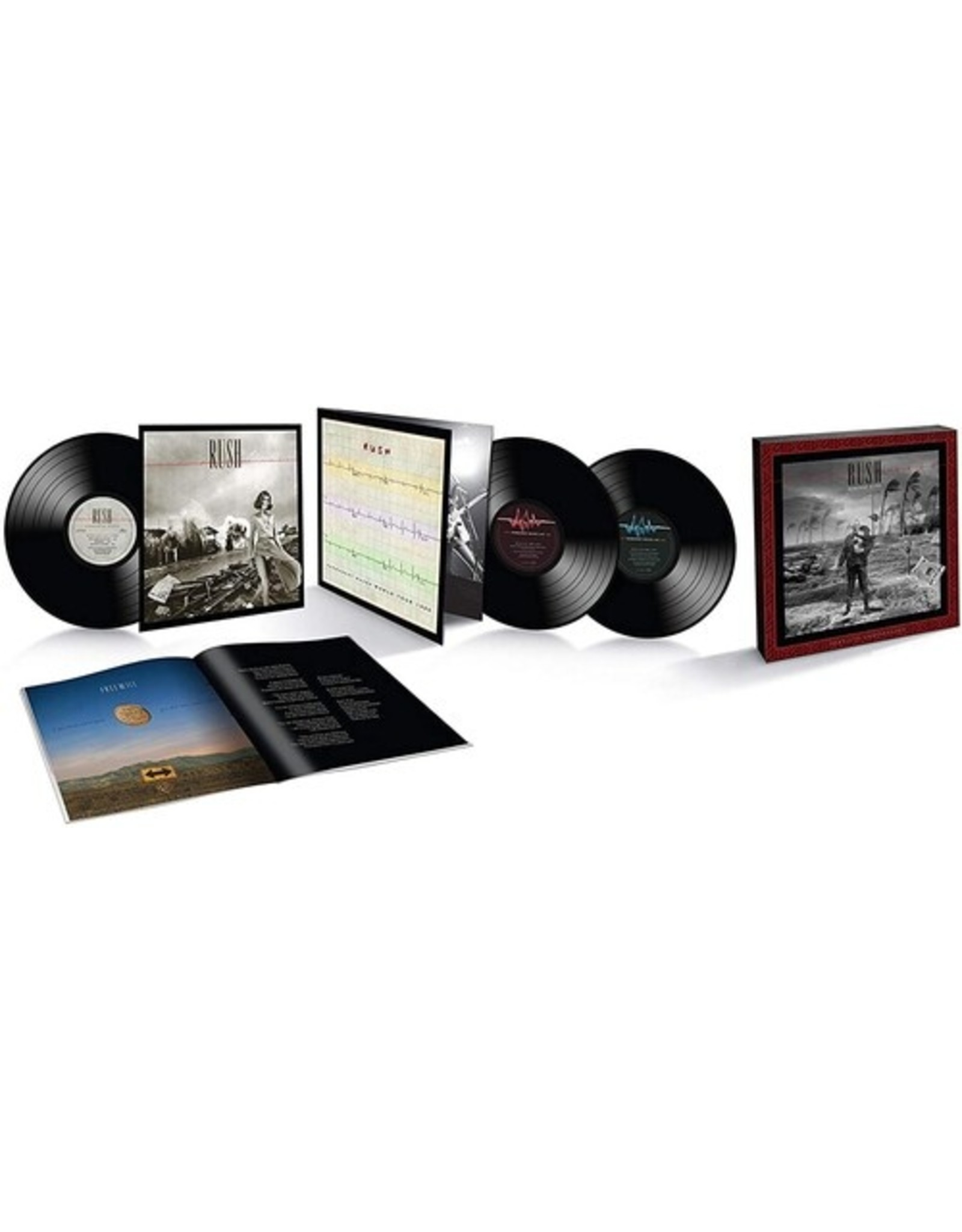 New Vinyl Rush - Permanent Waves (40th Anniversary, Deluxe) 3LP